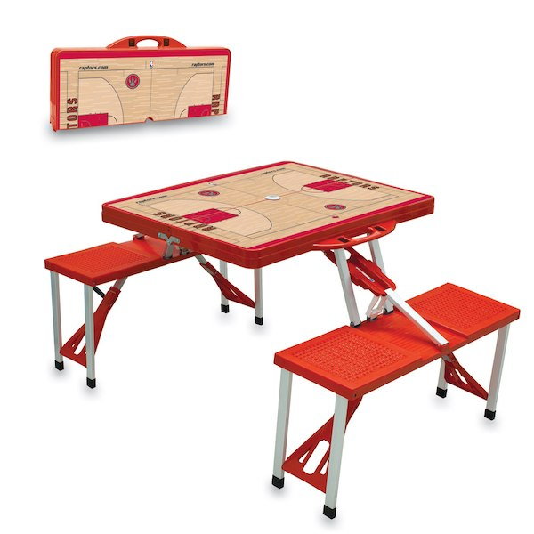 お取り寄せ NBA ラプターズ レジャー/アウトドア 折りたたみ テーブル レッド