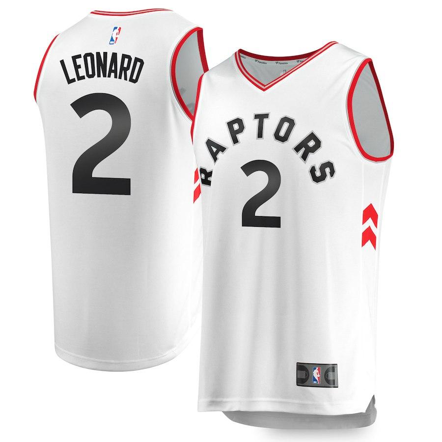 お取り寄せ NBA ラプターズ カワイ・レナード ユニフォーム/ジャージ ファスト ブレイク レプリカ アソシエーション エディション