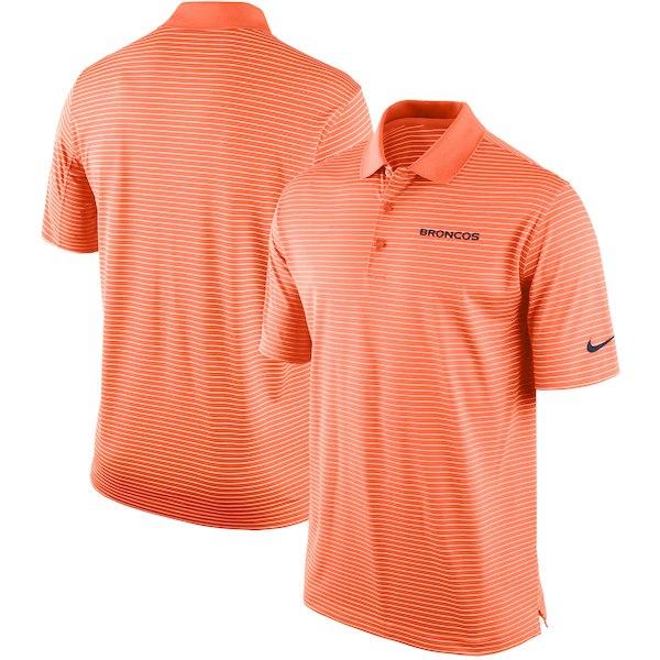 お取り寄せ NFL ブロンコス ポロシャツ チームスタジアム パフォーマンス ナイキ/Nike オレンジ