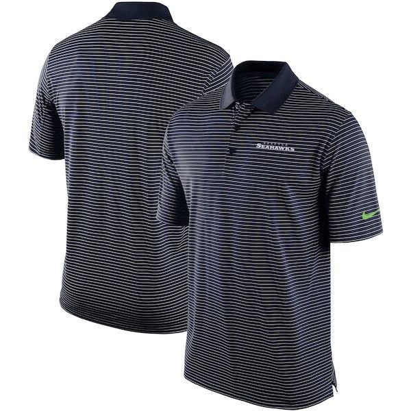 お取り寄せ NFL シーホークス ポロシャツ チームスタジアム パフォーマンス ナイキ/Nike カレッジネイビー