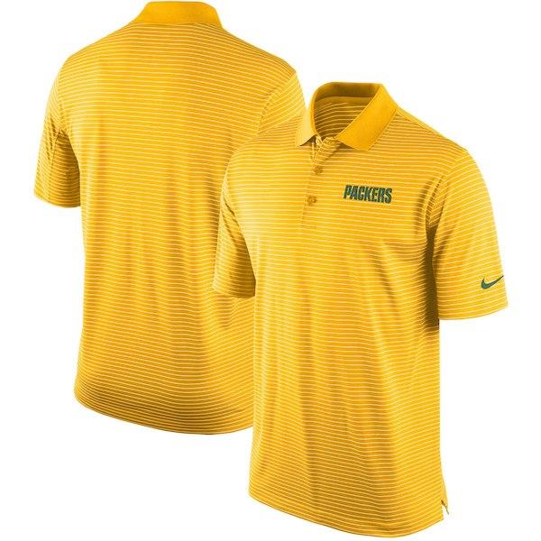 お取り寄せ NFL パッカーズ ポロシャツ チームスタジアム パフォーマンス ナイキ/Nike ゴールド