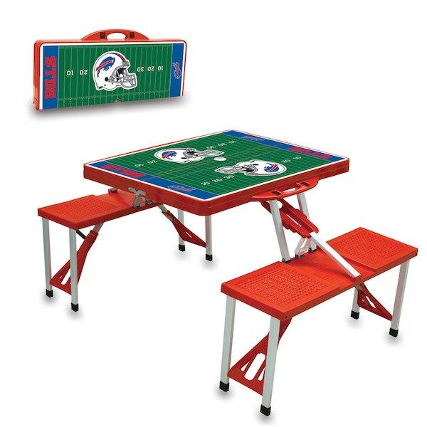 お取り寄せ NFL ビルズ レジャー/アウトドア 折りたたみ テーブル レッド