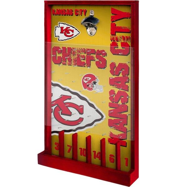 お取り寄せ NFL カンザスシティ・チーフス ボトル オープナー サイン ゲーム 栓抜き