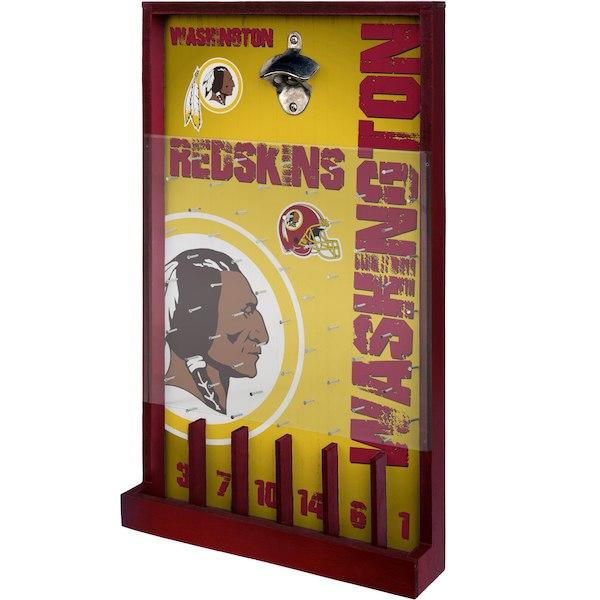 お取り寄せ NFL ワシントン・レッドスキンズ ボトル オープナー サイン ゲーム 栓抜き