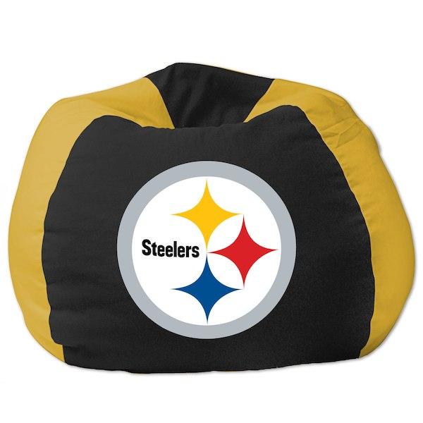 お取り寄せ NFL ピッツバーグ・スティーラーズ ビーズクッションソファ/体にフィットするソファ チェア