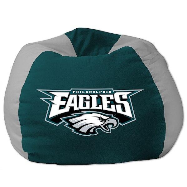 お取り寄せ NFL フィラデルフィア・イーグルス ビーズクッションソファ/体にフィットするソファ チェア