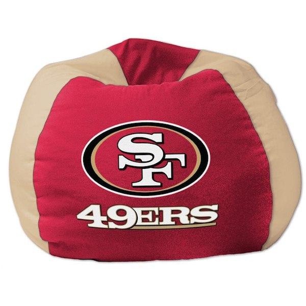 お取り寄せ NFL サンフランシスコ・49ers ビーズクッションソファ/体にフィットするソファ チェア