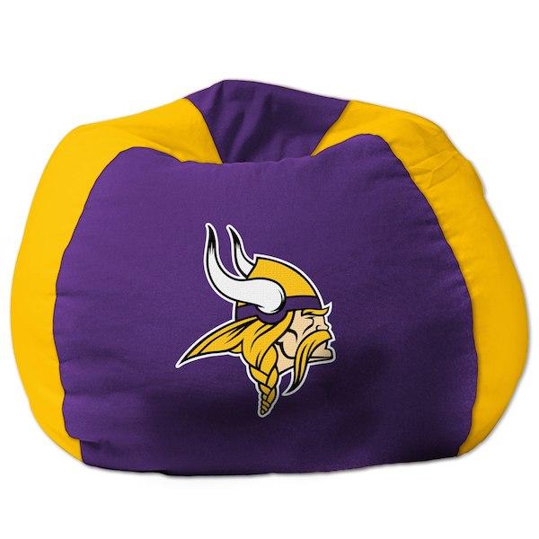 お取り寄せ NFL ミネソタ・バイキングス ビーズクッションソファ/体にフィットするソファ チェア