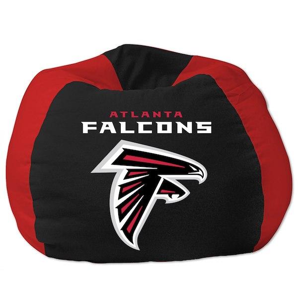 お取り寄せ NFL アトランタ・ファルコンズ ビーズクッションソファ/体にフィットするソファ チェア