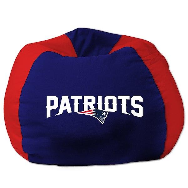 お取り寄せ NFL ニューイングランド・ペイトリオッツ ビーズクッションソファ/体にフィットするソファ チェア