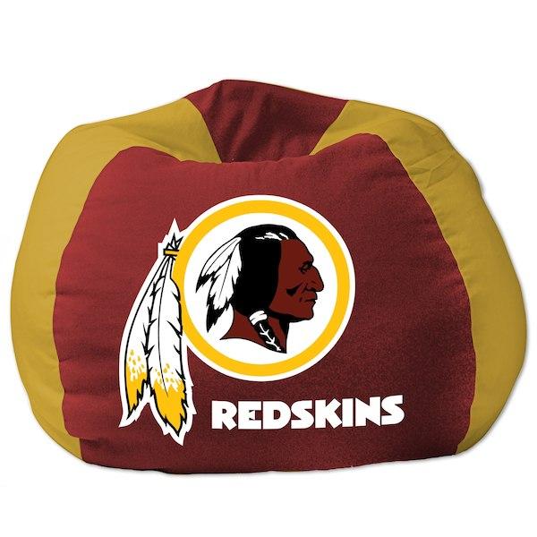 お取り寄せ NFL ワシントン・レッドスキンズ ビーズクッションソファ/体にフィットするソファ チェア
