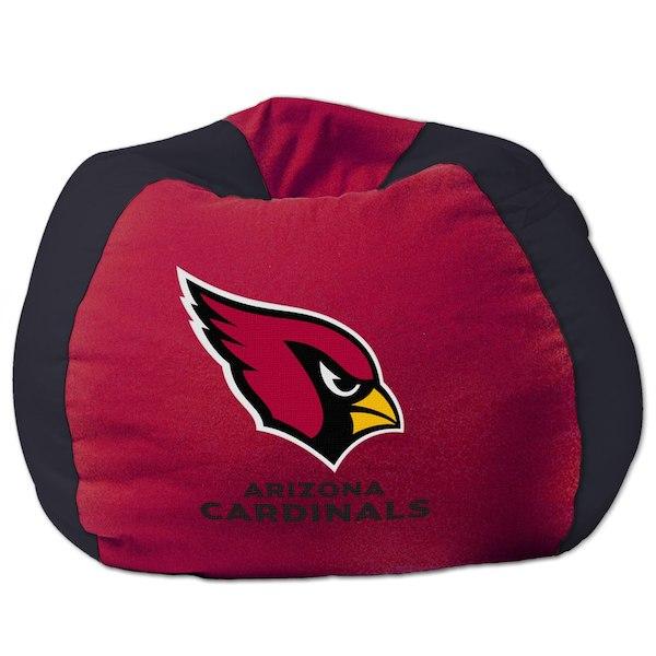 お取り寄せ NFL アリゾナ・カーディナルス ビーズクッションソファ/体にフィットするソファ チェア