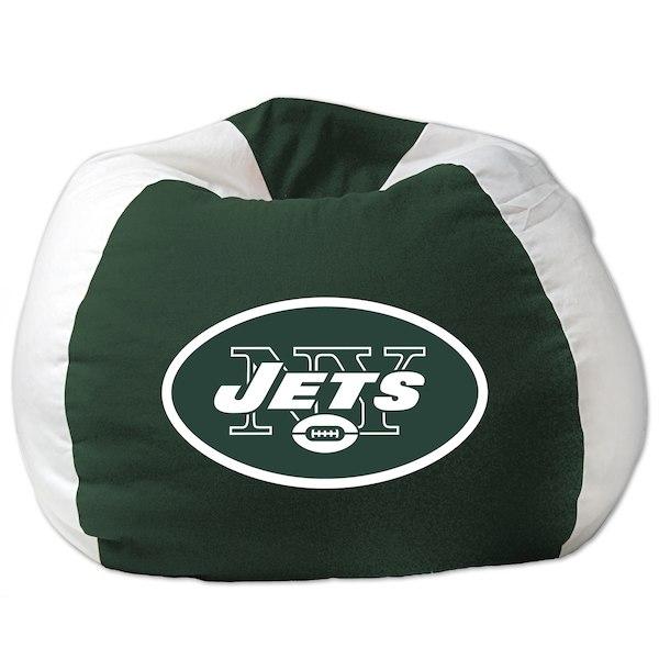 お取り寄せ お取り寄せ NFL ニューヨーク チェア・ジェッツ ビーズクッションソファ NFL/体にフィットするソファ チェア, サメガワムラ:20621c75 --- jpworks.be