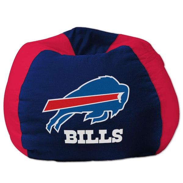 お取り寄せ NFL バッファロー・ビルズ ビーズクッションソファ/体にフィットするソファ チェア