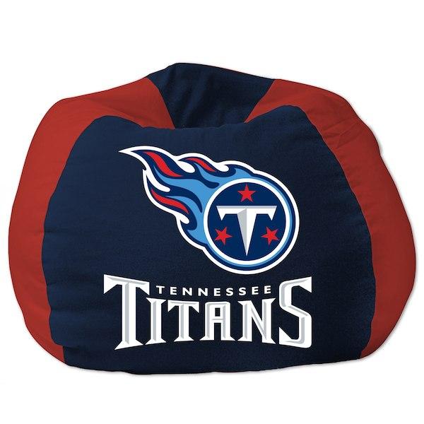 お取り寄せ NFL テネシー・タイタンズ ビーズクッションソファ/体にフィットするソファ チェア