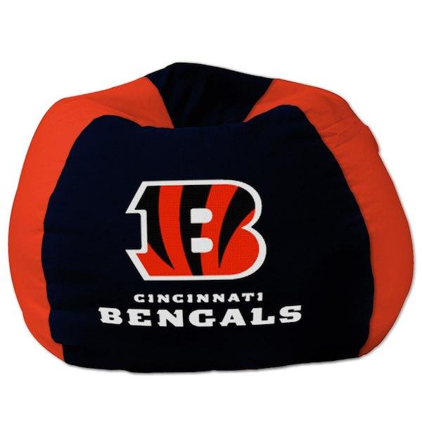 お取り寄せ NFL シンシナティ・ベンガルズ ビーズクッションソファ/体にフィットするソファ チェア