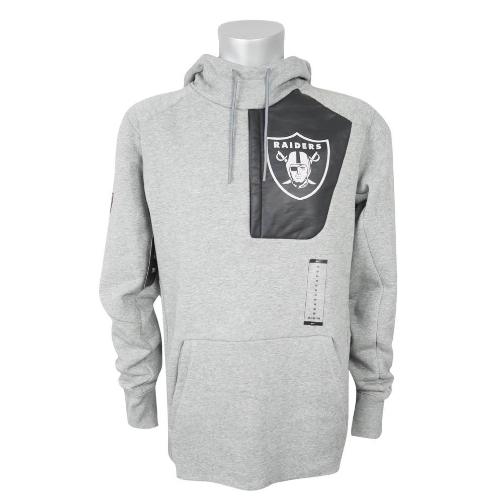 NFL オークランド・レイダース パーカー/フーディー 17 フライ フリース ナイキ/Nike グレー 851782-063