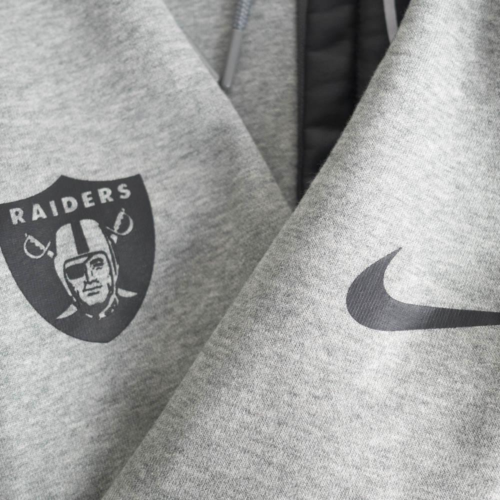 the latest 07e0c f6e34 NFL Oakland Raiders parka / フーディー 17 fly fleece Nike /Nike gray 851,782-063