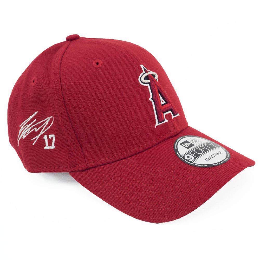 MLB エンゼルス 大谷翔平 キャップ/帽子 サイン刺繍入り アジャスタブル ニューエラ/New Era ゲーム