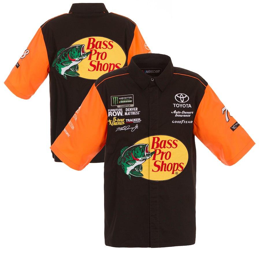 お取り寄せ NASCAR Bass Pro Shops マーティン・トゥーレックス・Jr. オフィシャル ピットシャツ JHデザイン/JH Design