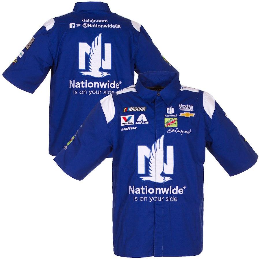お取り寄せ NASCAR Nationwide デイル・アーンハート・Jr. オフィシャル ピットシャツ JHデザイン/JH Design