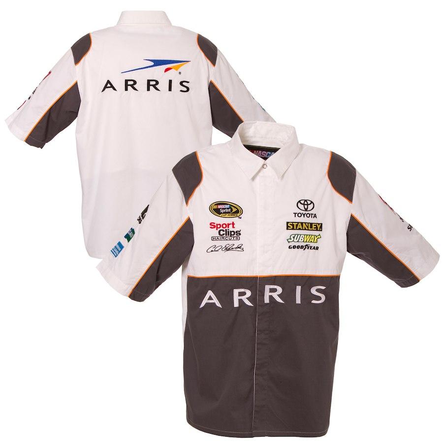 お取り寄せ NASCAR Arris カール・エドワーズ オフィシャル ピットシャツ JHデザイン/JH Design