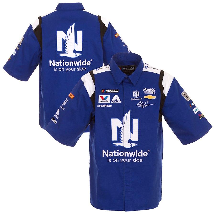 お取り寄せ NASCAR Alex Nationwide オフィシャル ピットシャツ JHデザイン/JH Design