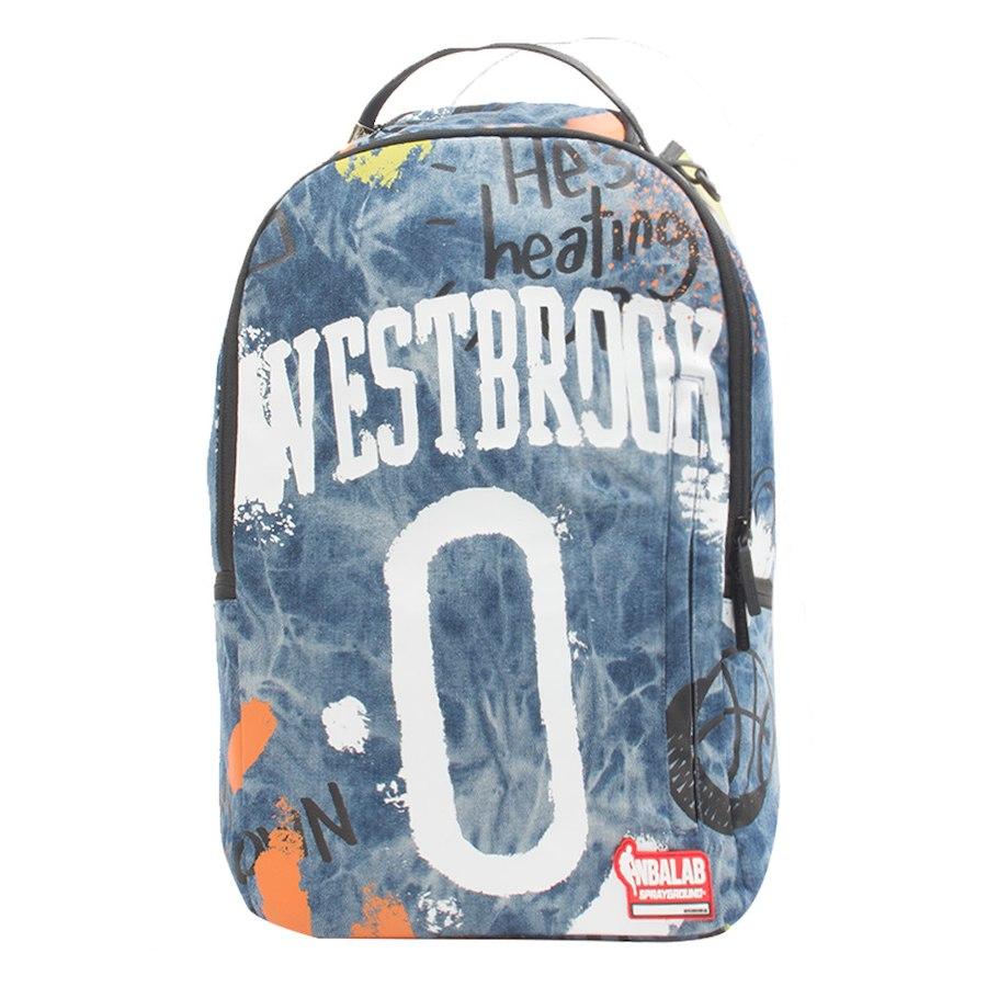 お取り寄せ NBA サンダー ラッセル・ウェストブルック バックパック/リュック スプレーグラウンド