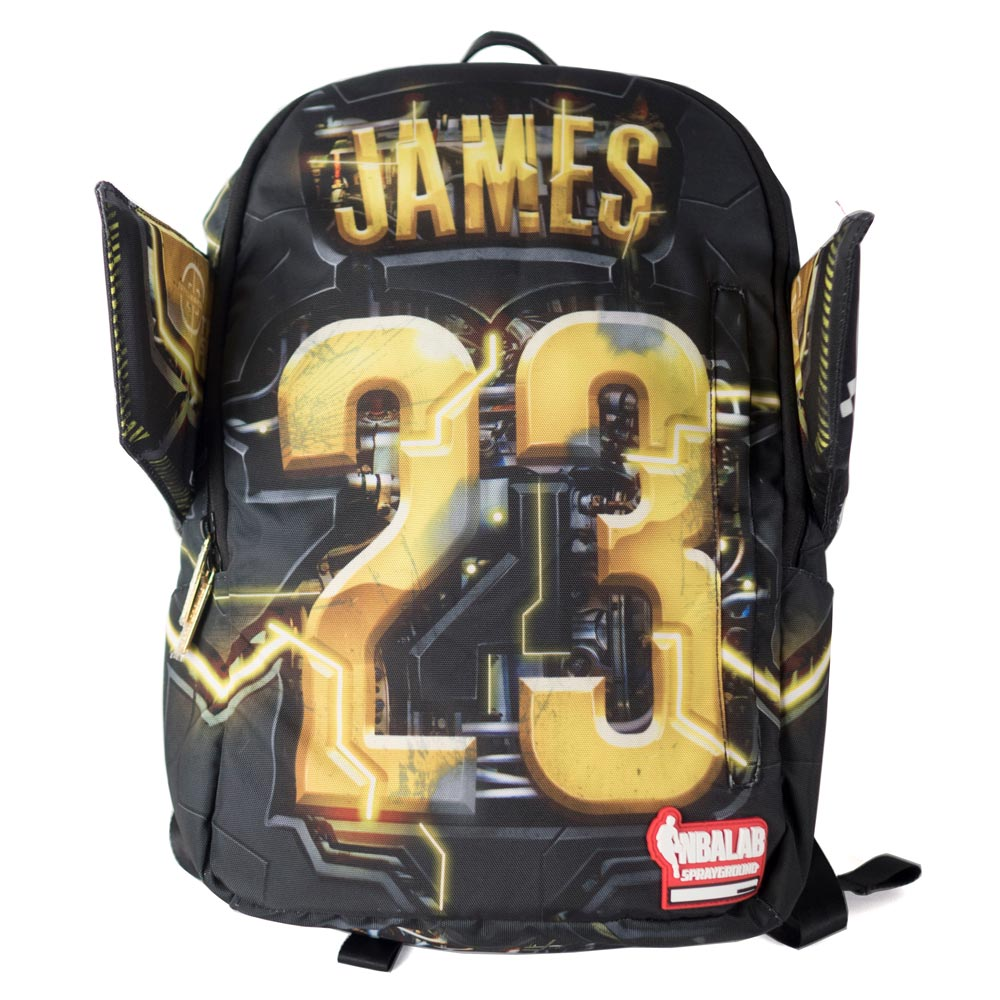 NBA レイカーズ レブロン・ジェイムス バックパック/リュック スプレーグラウンド