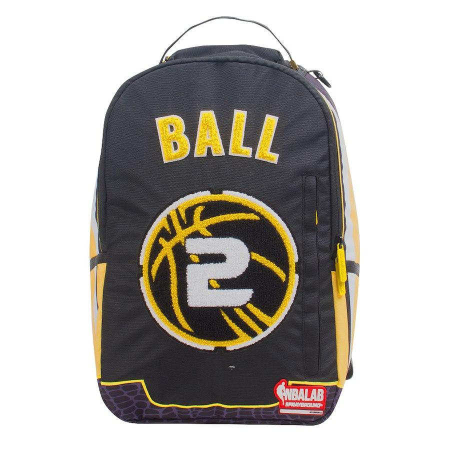 お取り寄せ NBA レイカーズ ロンゾ・ボール バックパック/リュック スプレーグラウンド