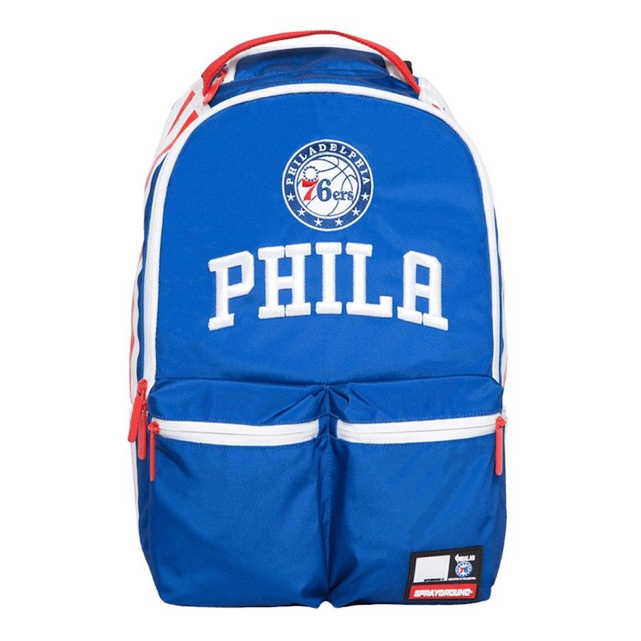 お取り寄せ NBA 76ers バックパック/リュック スプレーグラウンド