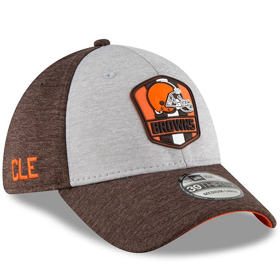 6925c88d Reservation NFL Browns cap / hat 39THIRTY 2,018 players wearing side line  road new gills ...