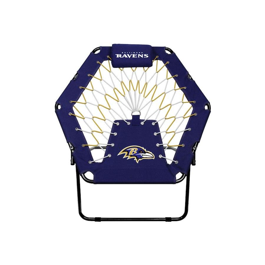 お取り寄せ NFL レイブンズ バンジー チェア/椅子 プレミアム