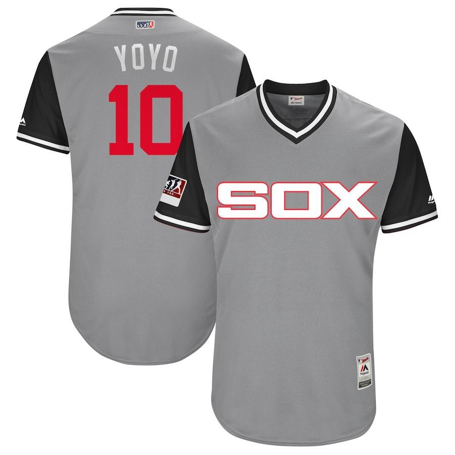 お取り寄せ MLB ホワイトソックス ヨアン・モンカダ ユニフォーム/ジャージ 選手着用 2018 プレーヤーズ・ウィークエンド