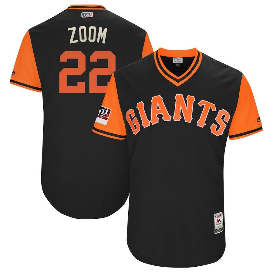 お取り寄せ MLB ジャイアンツ アンドルー・マカチェン ユニフォーム/ジャージ 選手着用 2018 プレーヤーズ・ウィークエンド