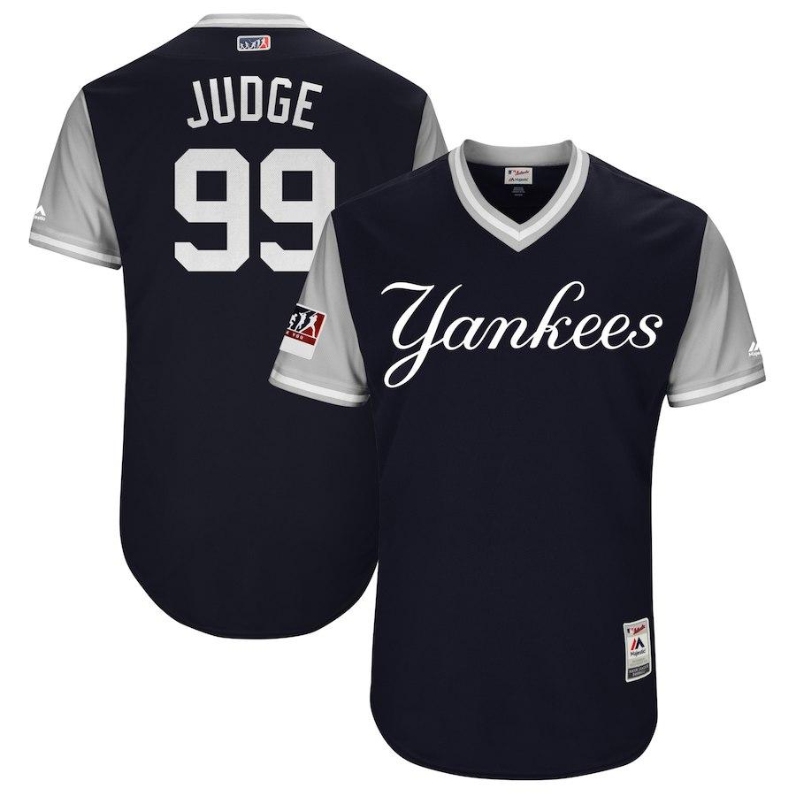 お取り寄せ MLB ヤンキース アーロン・ジャッジ ユニフォーム/ジャージ 選手着用 2018 プレーヤーズ・ウィークエンド
