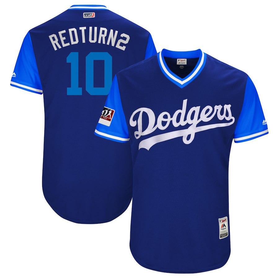 お取り寄せ MLB ドジャース ジャスティン・ターナー ユニフォーム/ジャージ 選手着用 2018 プレーヤーズ・ウィークエンド