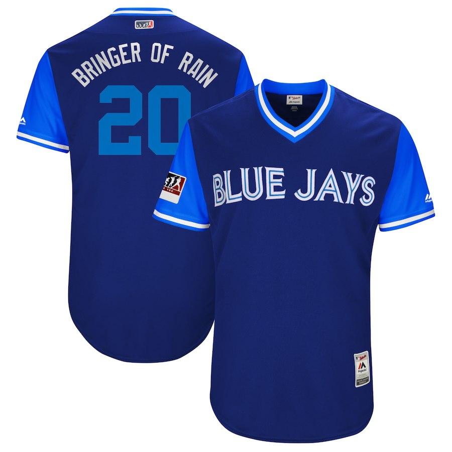 お取り寄せ MLB ブルージェイズ ジョシュ・ドナルドソン ユニフォーム/ジャージ 選手着用 2018 プレーヤーズ・ウィークエンド
