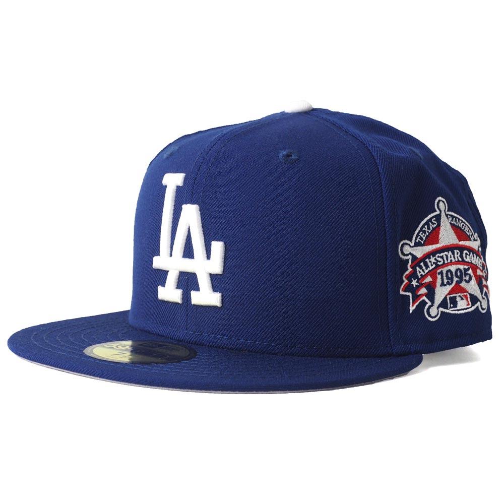 e5d4d2dc MLB Dodgers cap / hat all-stars 1995 patch 59FIFTY new gills /New Era ...
