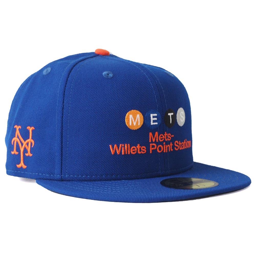 メッツ キャップ ニューエラ NEW ERA MLB MTA コラボ 59FIFTY ロイヤル【1910価格変更】【191028変更】