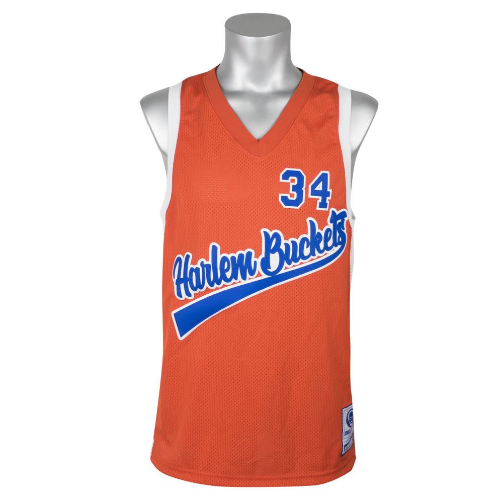 ユニフォーム/ジャージ Uncle Drew/アンクル・ドリュー Big Fella #34 Harlem Buckets