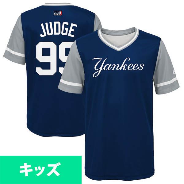MLB ヤンキース アーロン・ジャッジ ユニフォーム/ジャージ 2018 プレーヤーズ・ウィークエンド キッズ【1910価格変更】