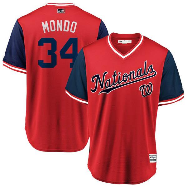 お取り寄せ MLB ナショナルズ ブライス・ハーパー ユニフォーム/ジャージ 2018 プレーヤーズ・ウィークエンド レプリカ