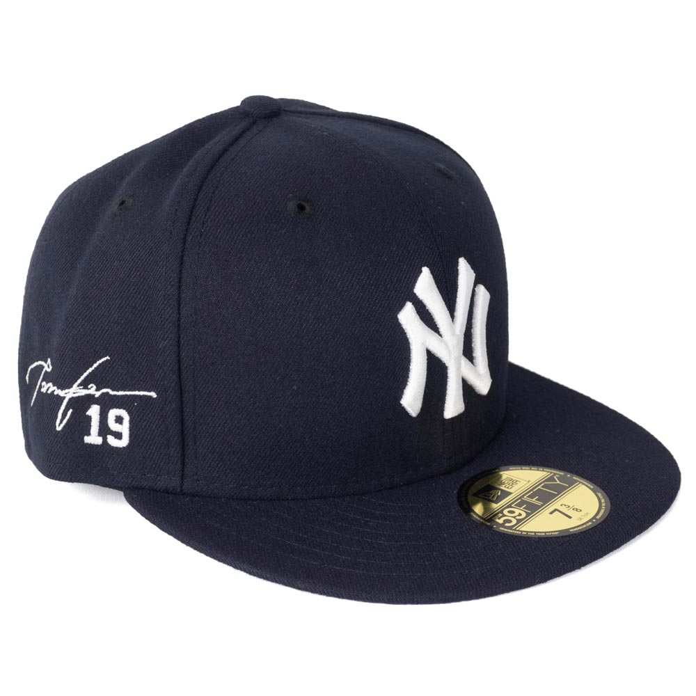 MLB ヤンキース 田中将大 キャップ/帽子 サイン刺繍入り カスタマイズ ニューエラ/New Era
