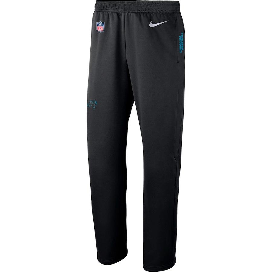 お取り寄せ NFL パンサーズ ロングパンツ/ズボン サイドライン パフォーマンス ナイキ/Nike