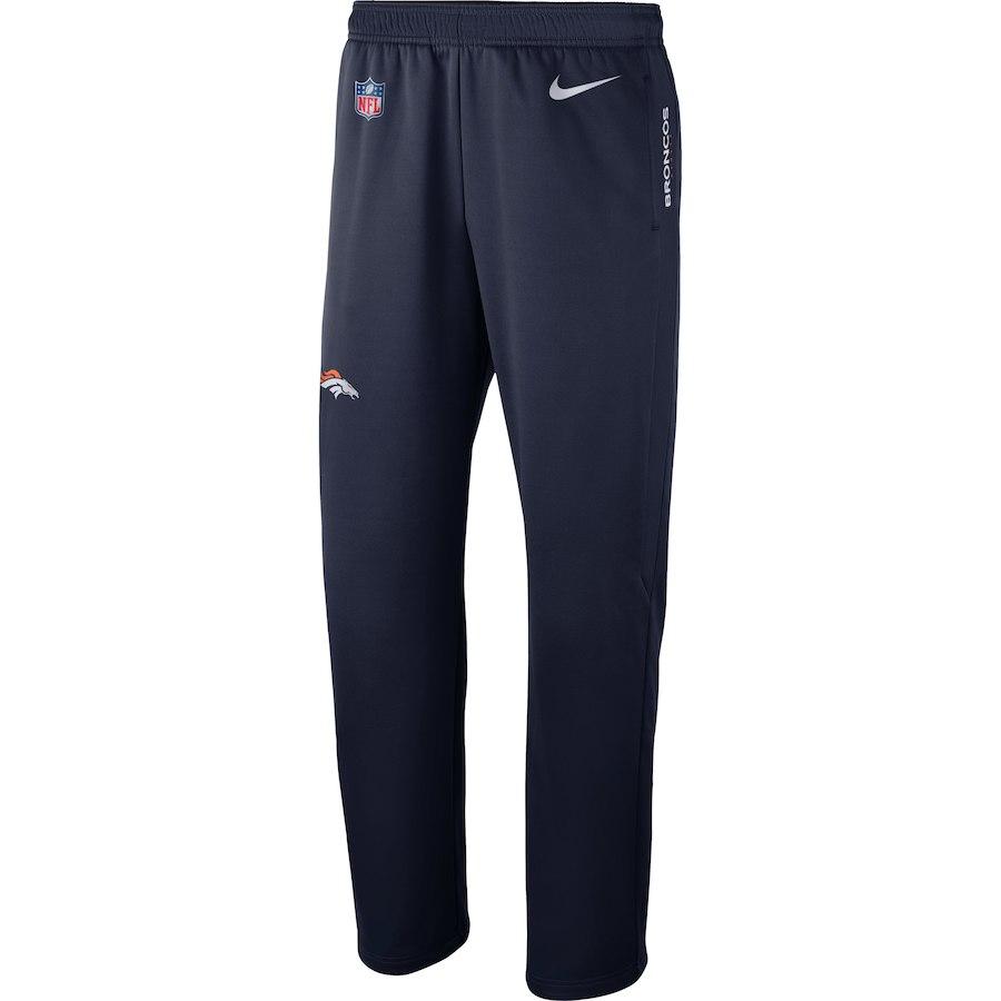 お取り寄せ NFL ブロンコス ロングパンツ/ズボン サイドライン パフォーマンス ナイキ/Nike