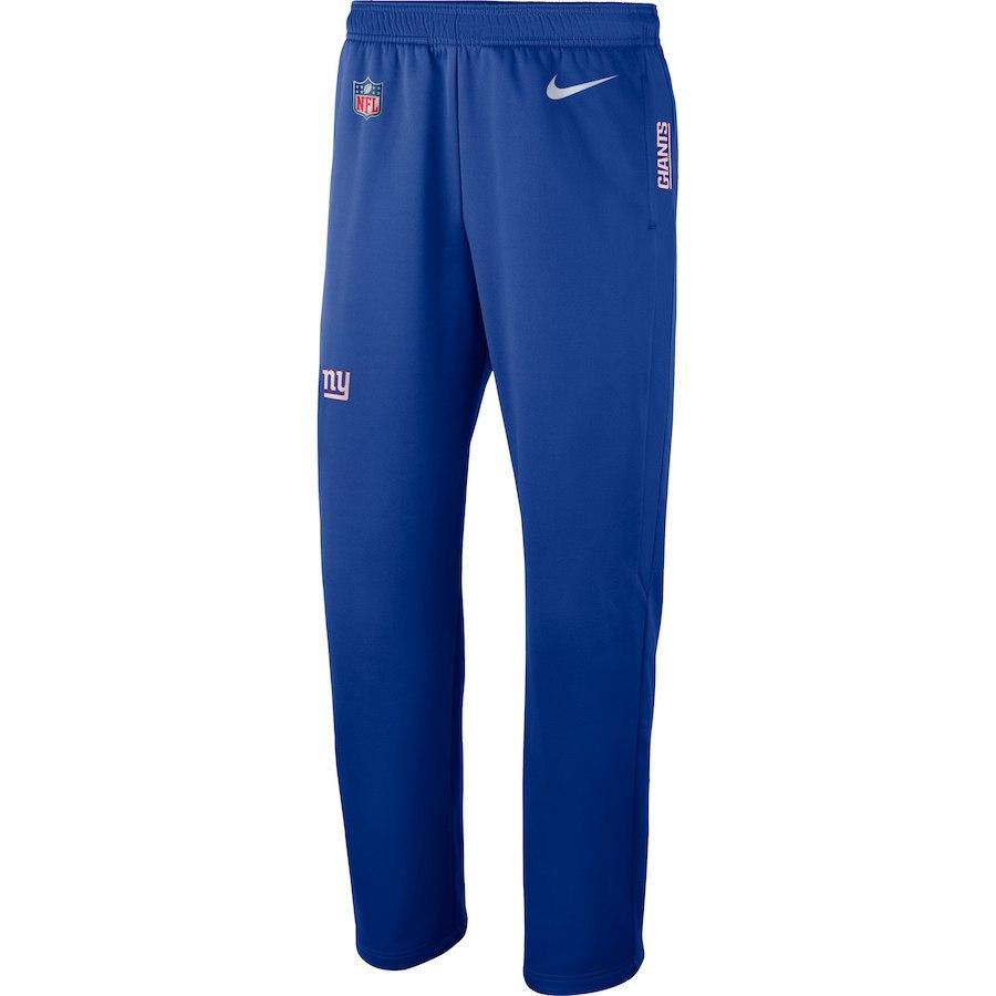 お取り寄せ NFL ジャイアンツ ロングパンツ/ズボン サイドライン パフォーマンス ナイキ/Nike