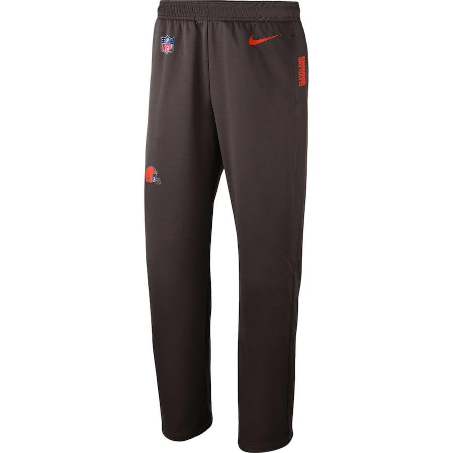 お取り寄せ NFL ブラウンズ ロングパンツ/ズボン サイドライン パフォーマンス ナイキ/Nike