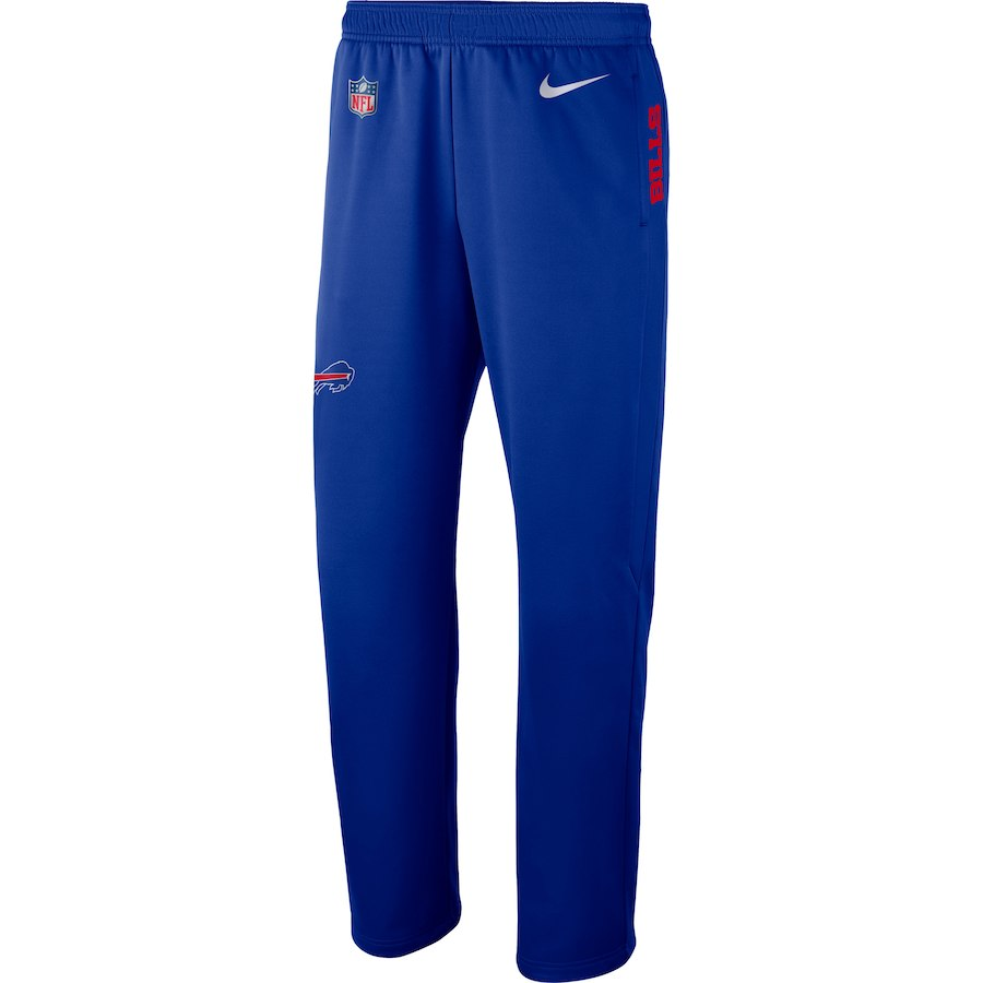 お取り寄せ NFL ビルズ ロングパンツ/ズボン サイドライン パフォーマンス ナイキ/Nike