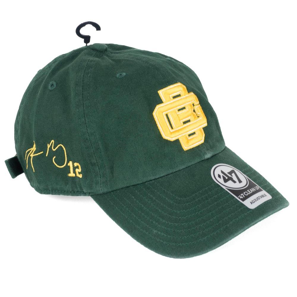 NFL パッカーズ アーロン・ロジャース キャップ/帽子 サイン刺繍入り カスタマイズ 47 Brand